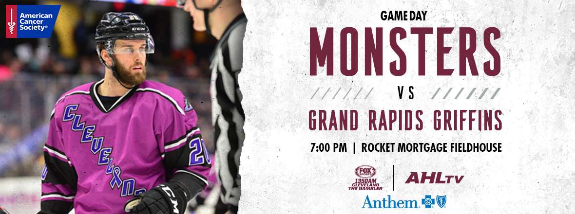 Game Preview: Monsters vs. Griffins 04/03
