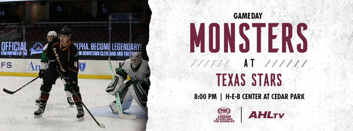 Game Preview: Monsters at Stars 04/29