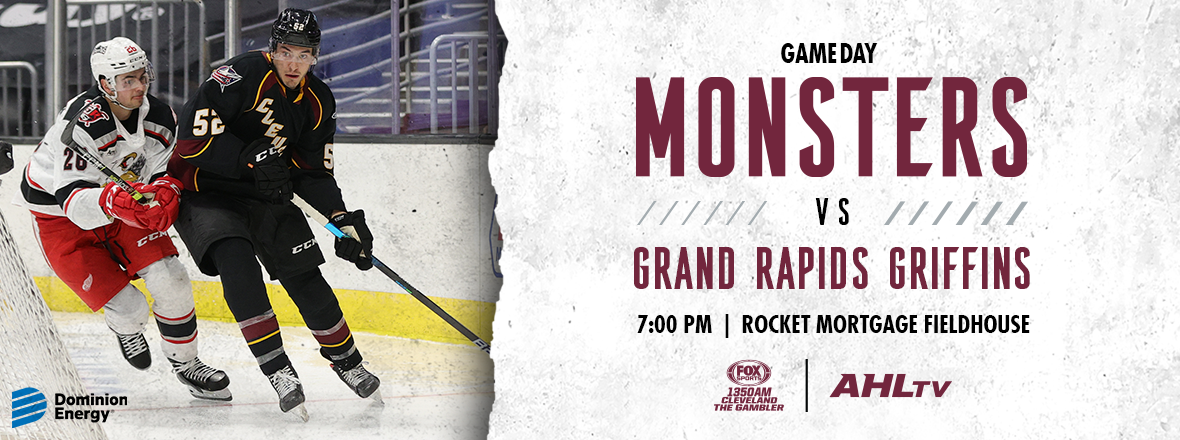 Game Preview: Monsters vs. Griffins 05/14