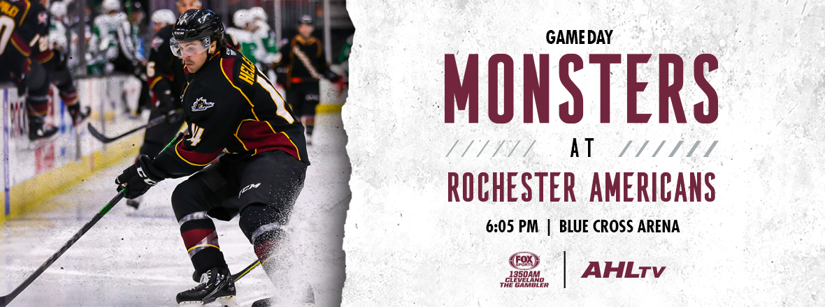 Game Preview: Monsters at Rochester 3/31