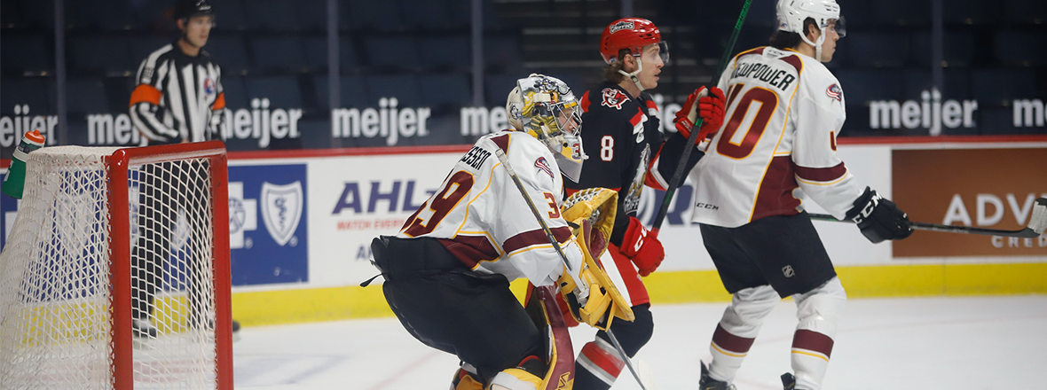 Monsters pick up a point in 2-1 overtime loss to Griffins