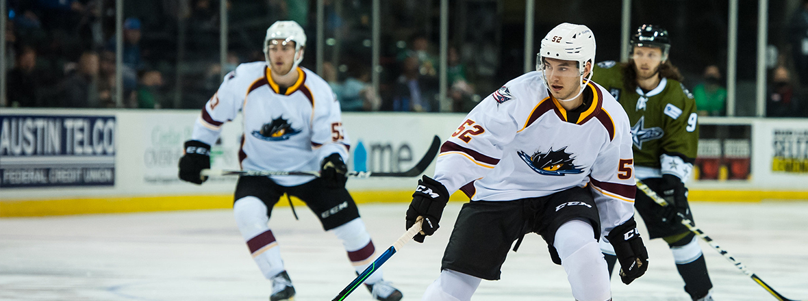 Monsters outshoot the Stars in 5-2 loss