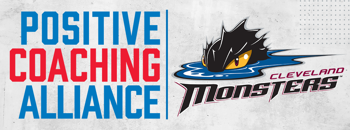Monsters announce partnership with Positive Coaching Alliance