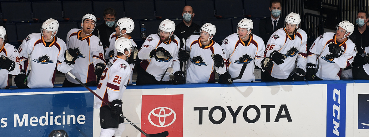Monsters offense shines in 5-1 victory over Americans