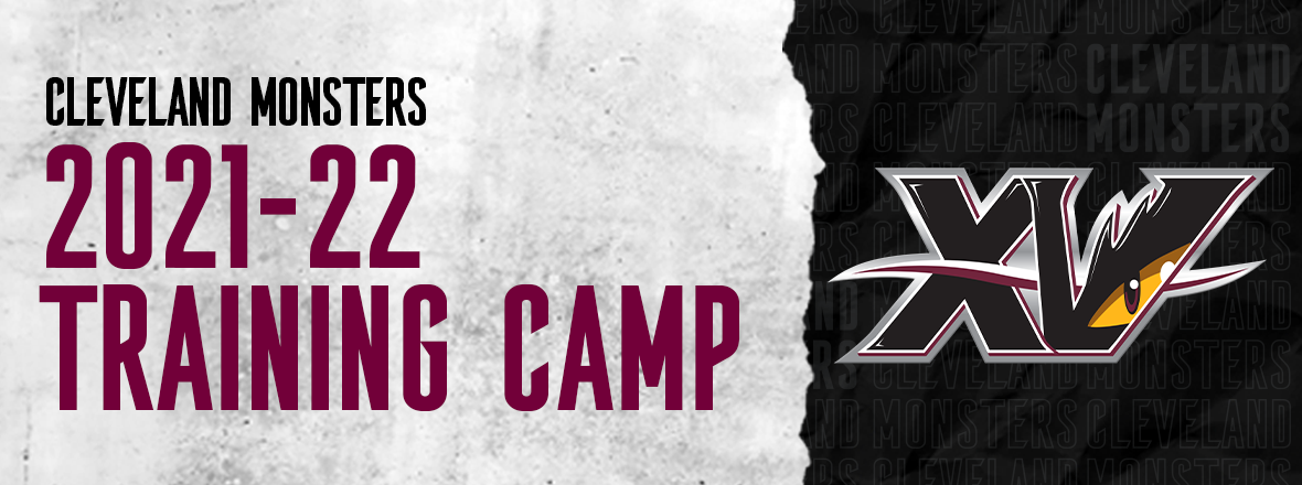 Monsters announce 2021-22 Training Camp roster