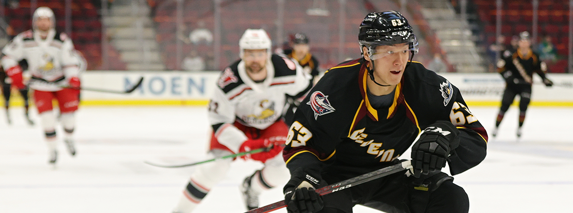 Monsters shutout by the Griffins in 2-0 loss