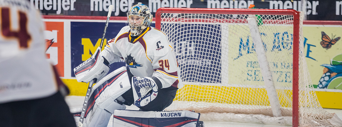 Monsters battle with Griffins, 5-3 loss ends win streak