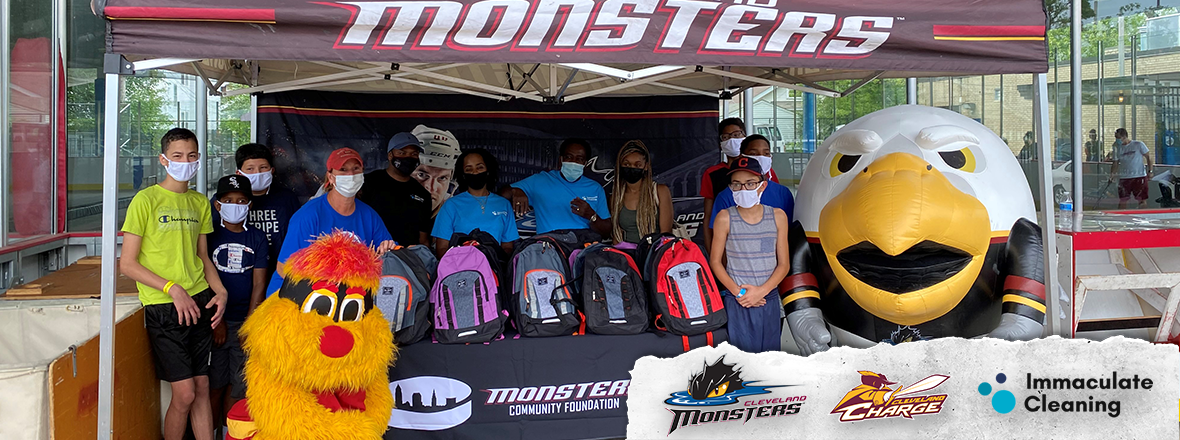 Monsters and Charge host Back to School Bash