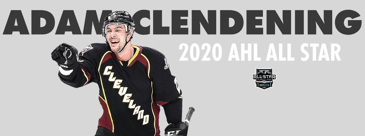 Monsters Adam Clendening Named to 2020 AHL All-Star Classic