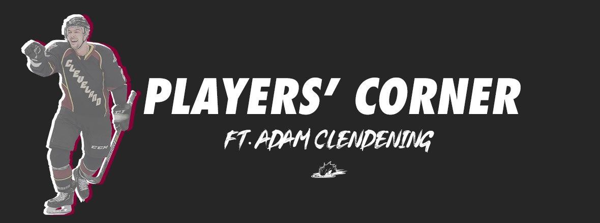Players' Corner: Adam Clendening Letter to Fans