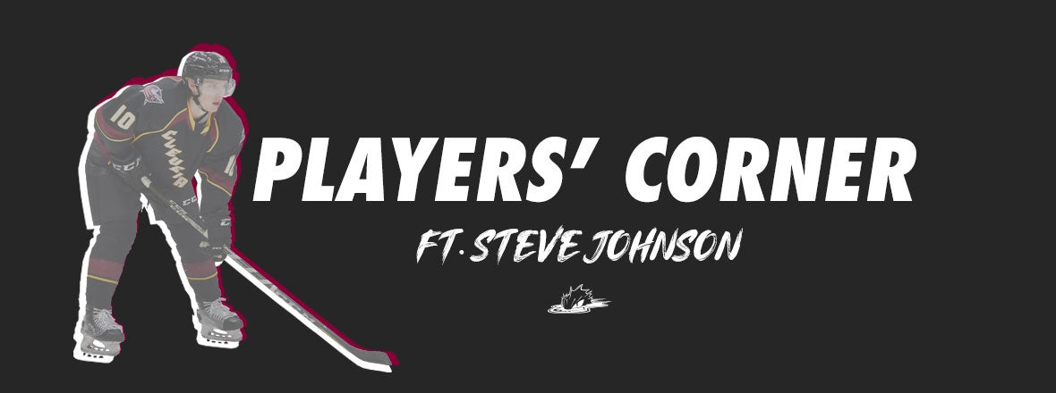 Players' Corner: Steve Johnson Letter to Fans