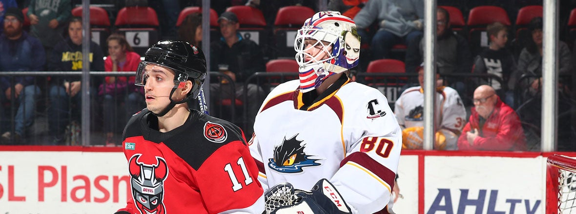 Monsters Come Up Short in 5-2 Loss To Devils