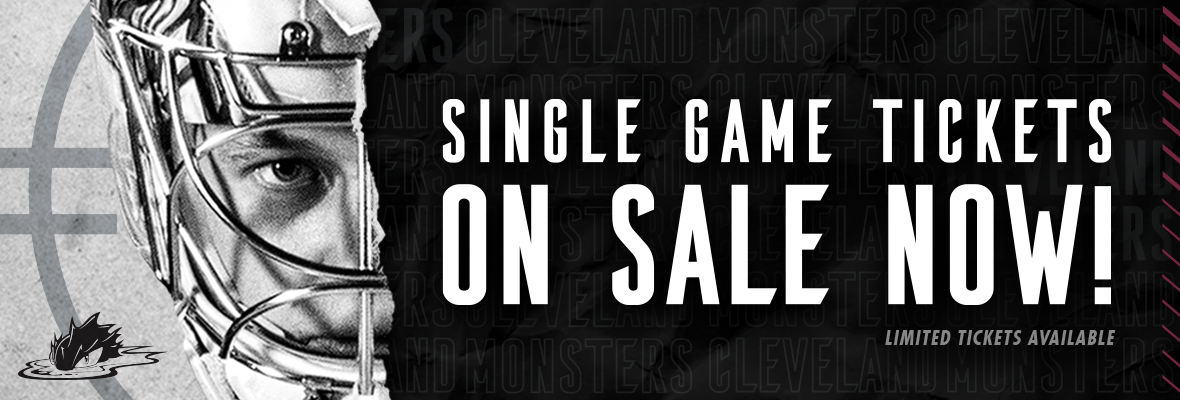 Cleveland Monsters announce 2020-21 single game ticket onsale