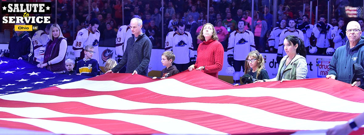 Monsters to Honor Military with 'Salute to Service' Pres. by Ohio Cat