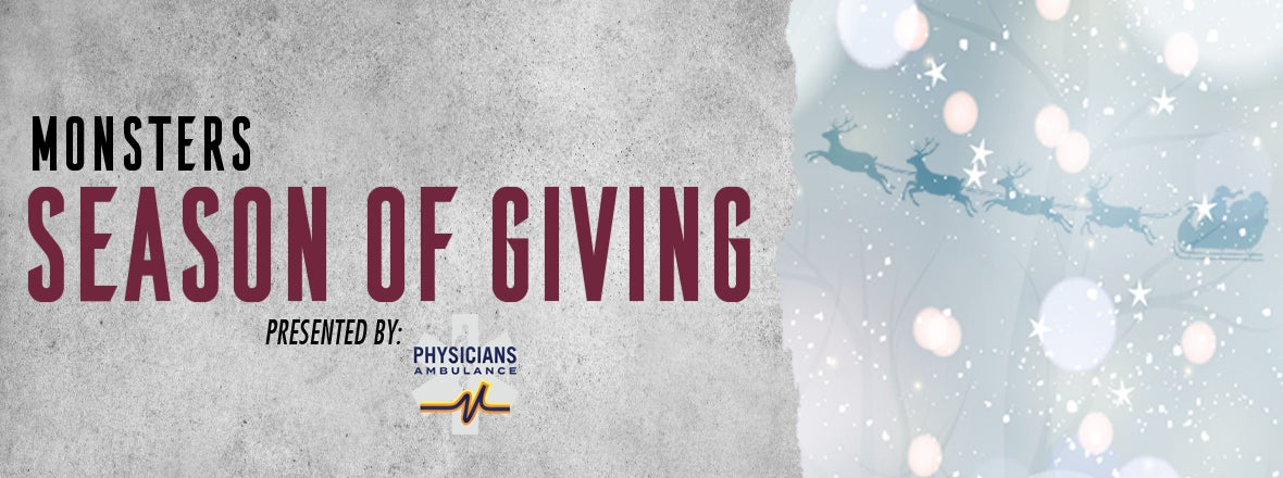 Monsters and Physicians Ambulance join together for Season of Giving