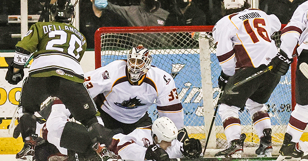 Monsters claim overtime win in series finale