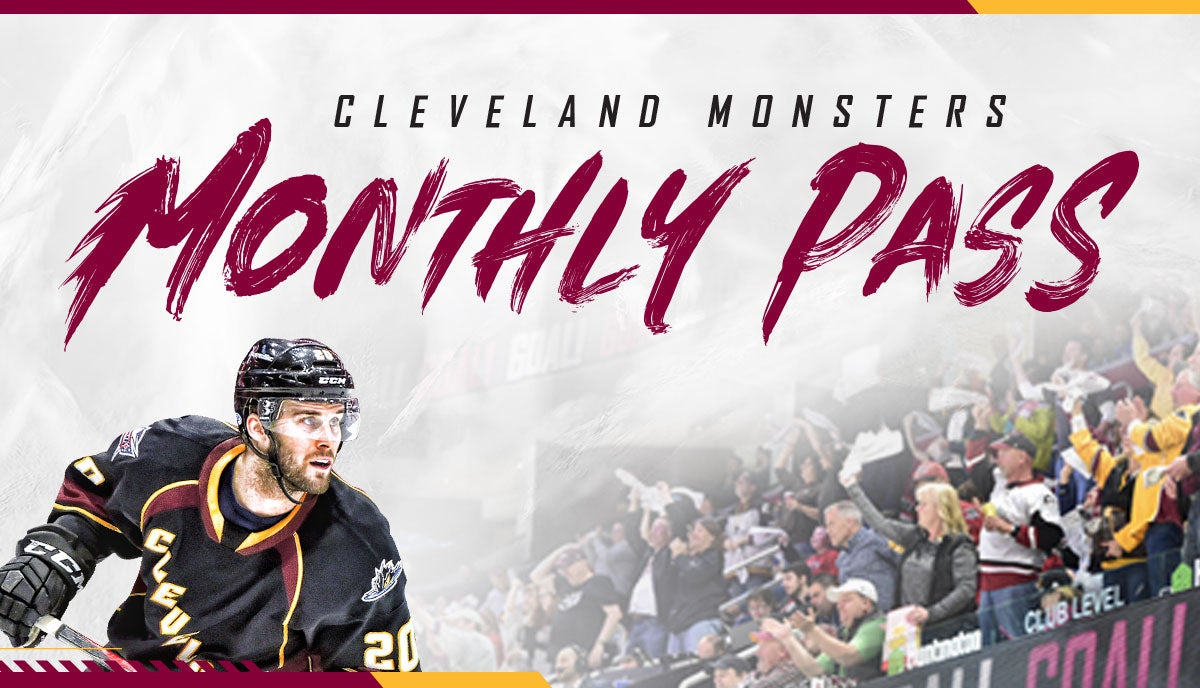 Monsters Monthly Pass | Cleveland Monsters