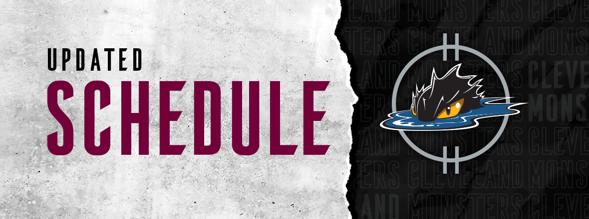 Monsters announce April 25 game versus Wolves moved to April 24