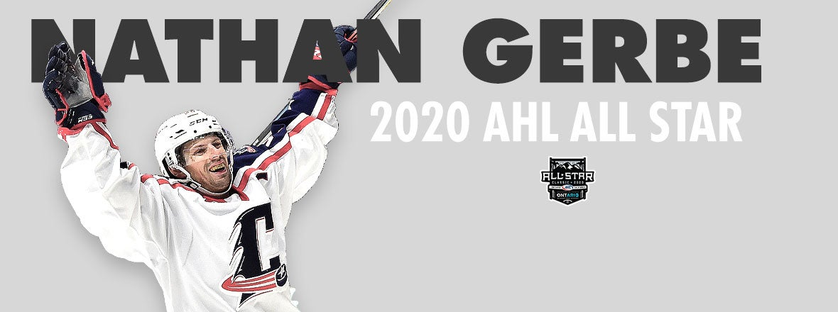 Monsters Co-Captain Nathan Gerbe Selected to AHL All-Star Classic