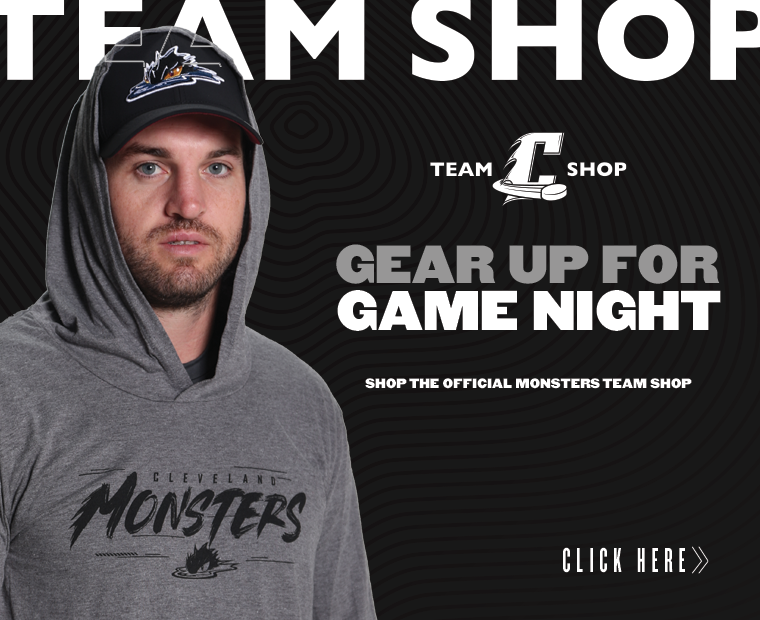 Monsters Team Shop - Gear Up for Game Night Ad