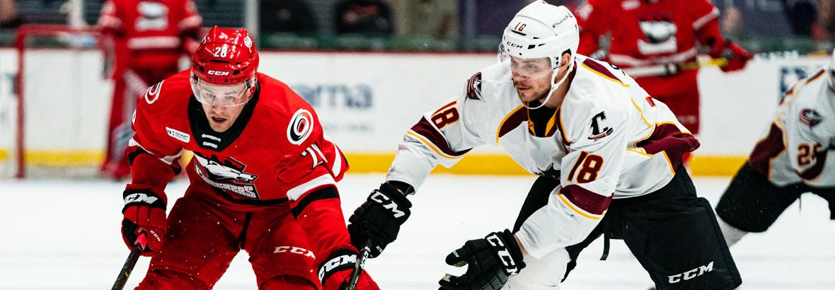 Monsters Comeback Halted in 2-1 Loss to Checkers