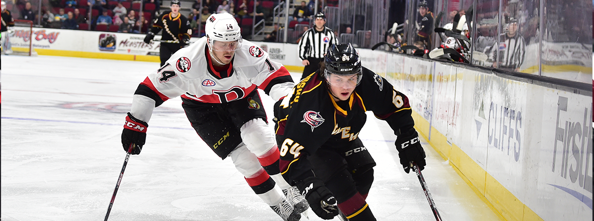 Monsters Defeated in 4-1 Loss to Senators