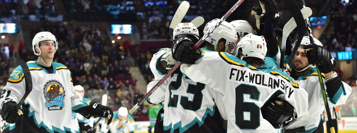 Monsters Sink Admirals 3-2 in Overtime