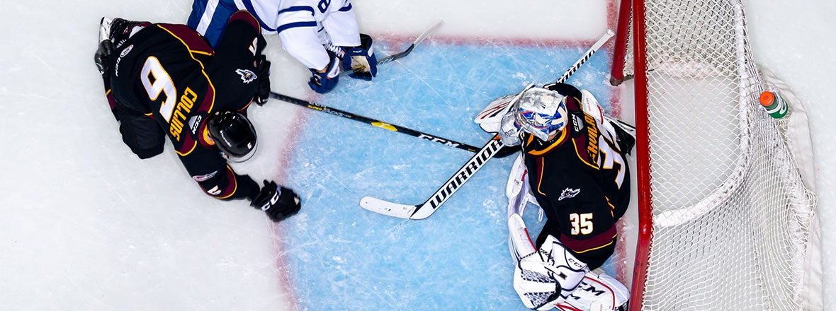 Monsters Fall Short in 2-0 Loss to Marlies