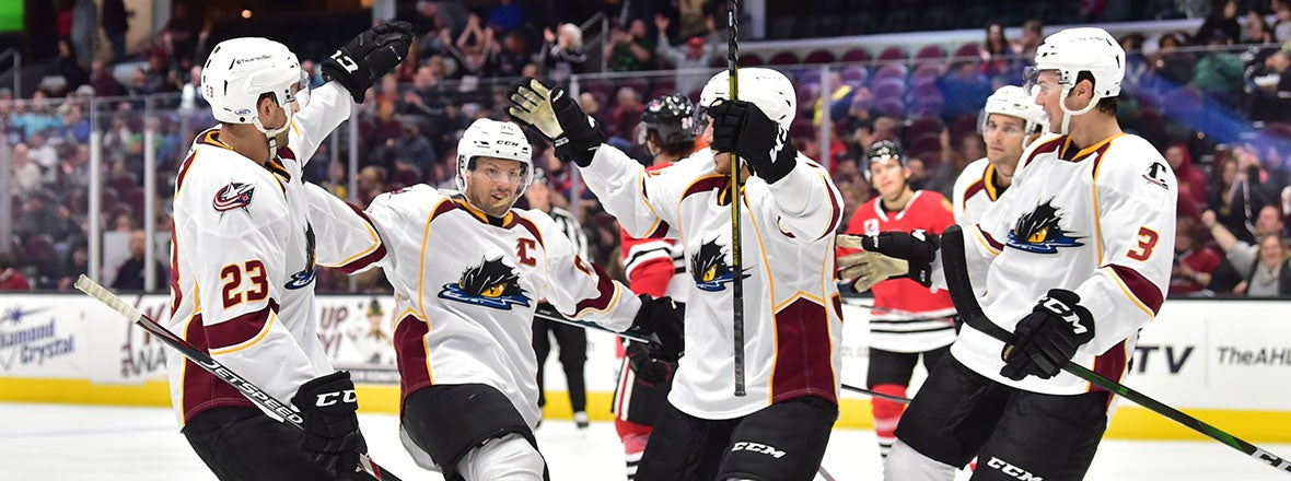 Monsters Make History in 5-0 Shutout Over Icehogs