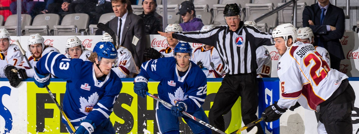 Monsters Comeback Falls Short in 4-3 OT Loss to Marlies