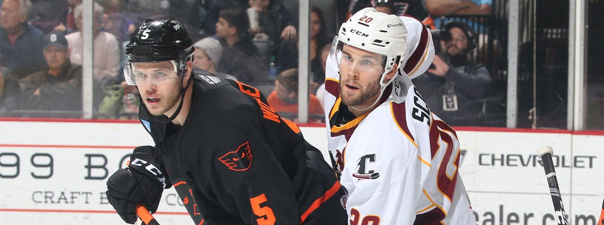 Monsters Felled by Phantoms Late, 2-0