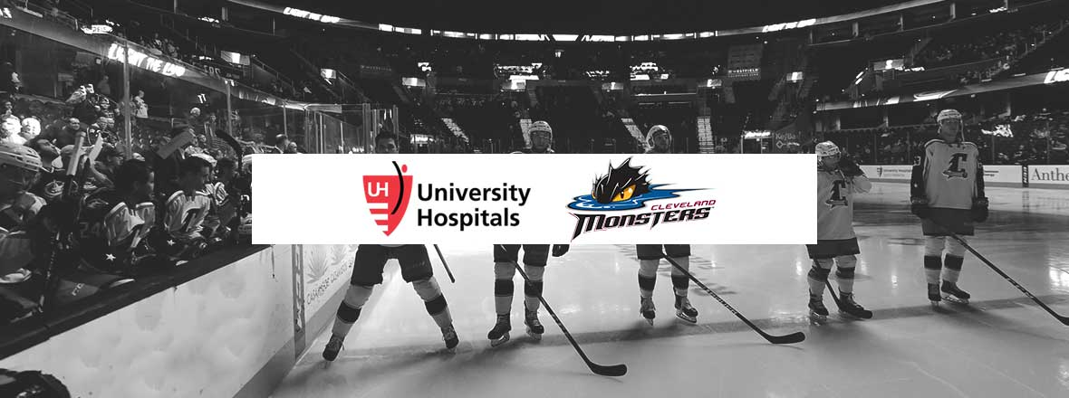UNIVERSITY HOSPITALS NAMED OFFICIAL HEALTH CARE PARTNER OF THE CLEVELAND MONSTERS