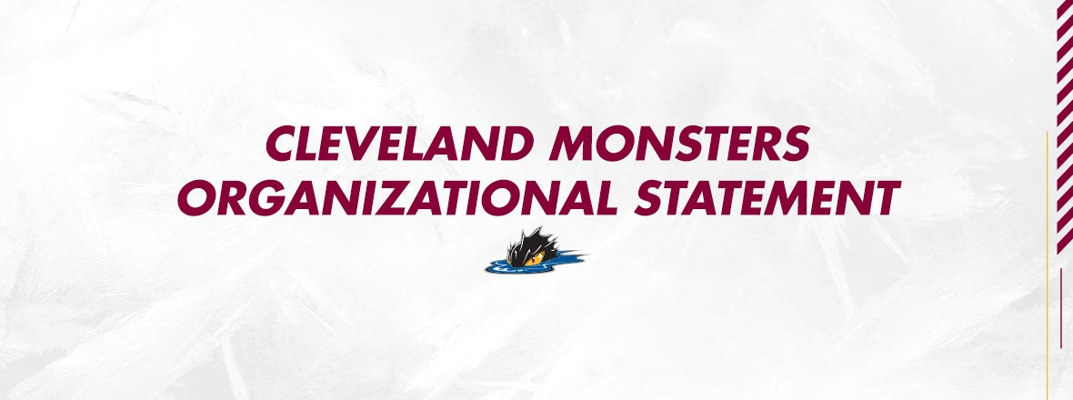 Cleveland Monsters Statement