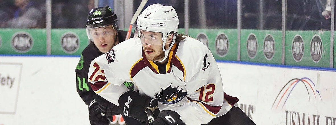 Monsters End Road Trip with 6-2 Loss in Utica