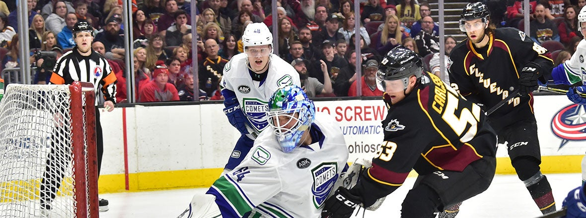 Monsters Stumble in 3-0 Loss to Comets