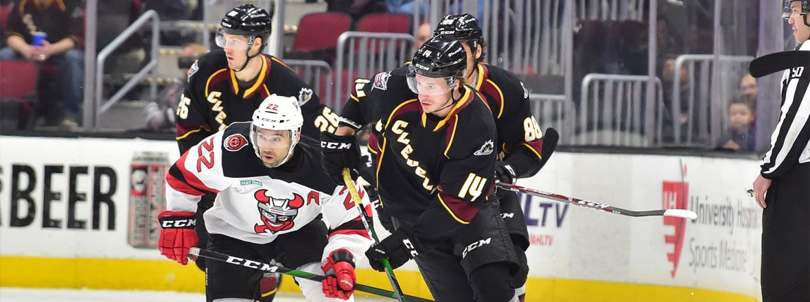 Monsters Stopped by the Devils, 4-0